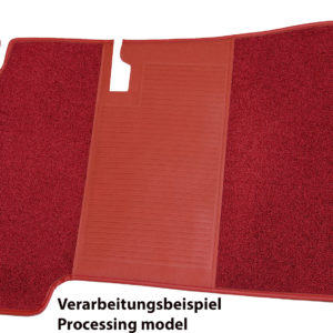 Heel protection <br> elements for Mercedes-Benz floor mats