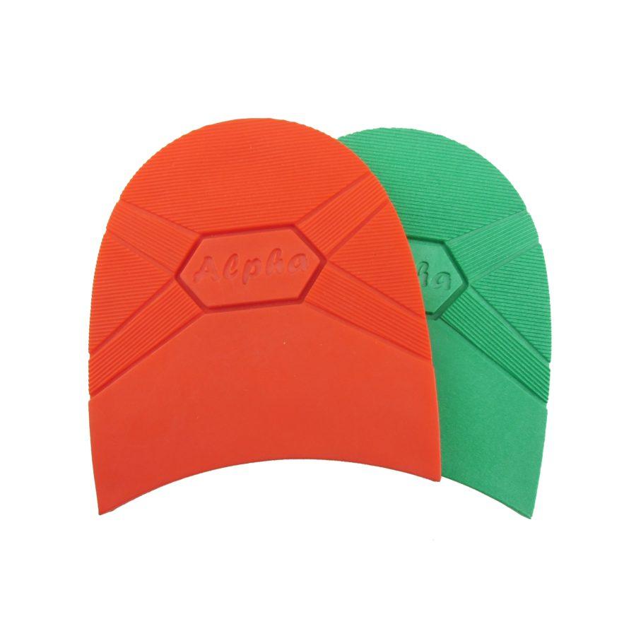 3. Alpha Absatz rot, grün