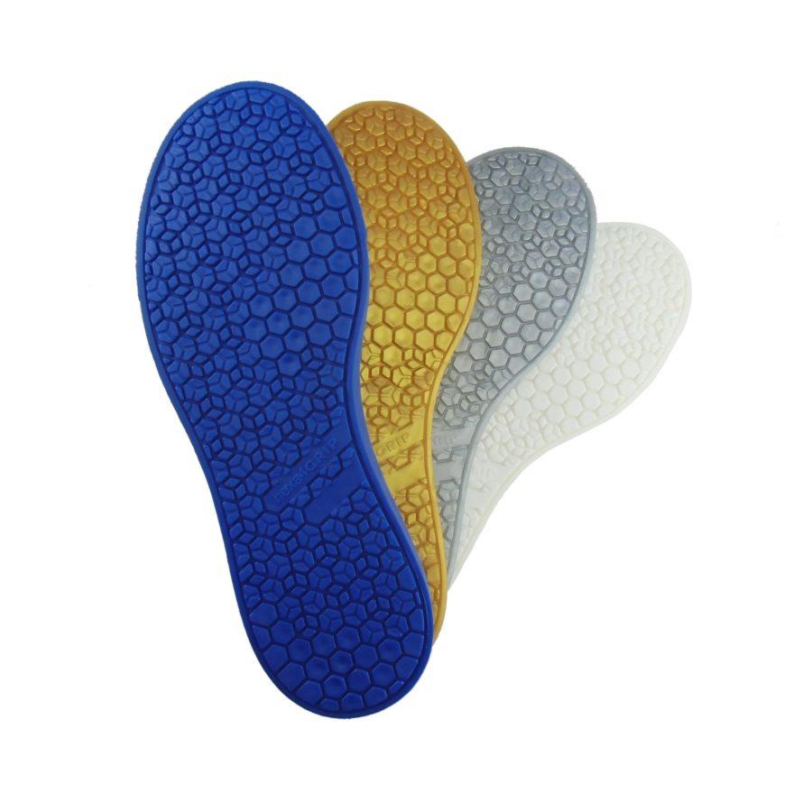 4. hexa4GRIP Sneaker Sohle Farbfächer